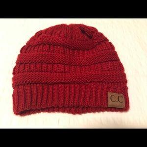 Accessories - Women's CC brand beanie